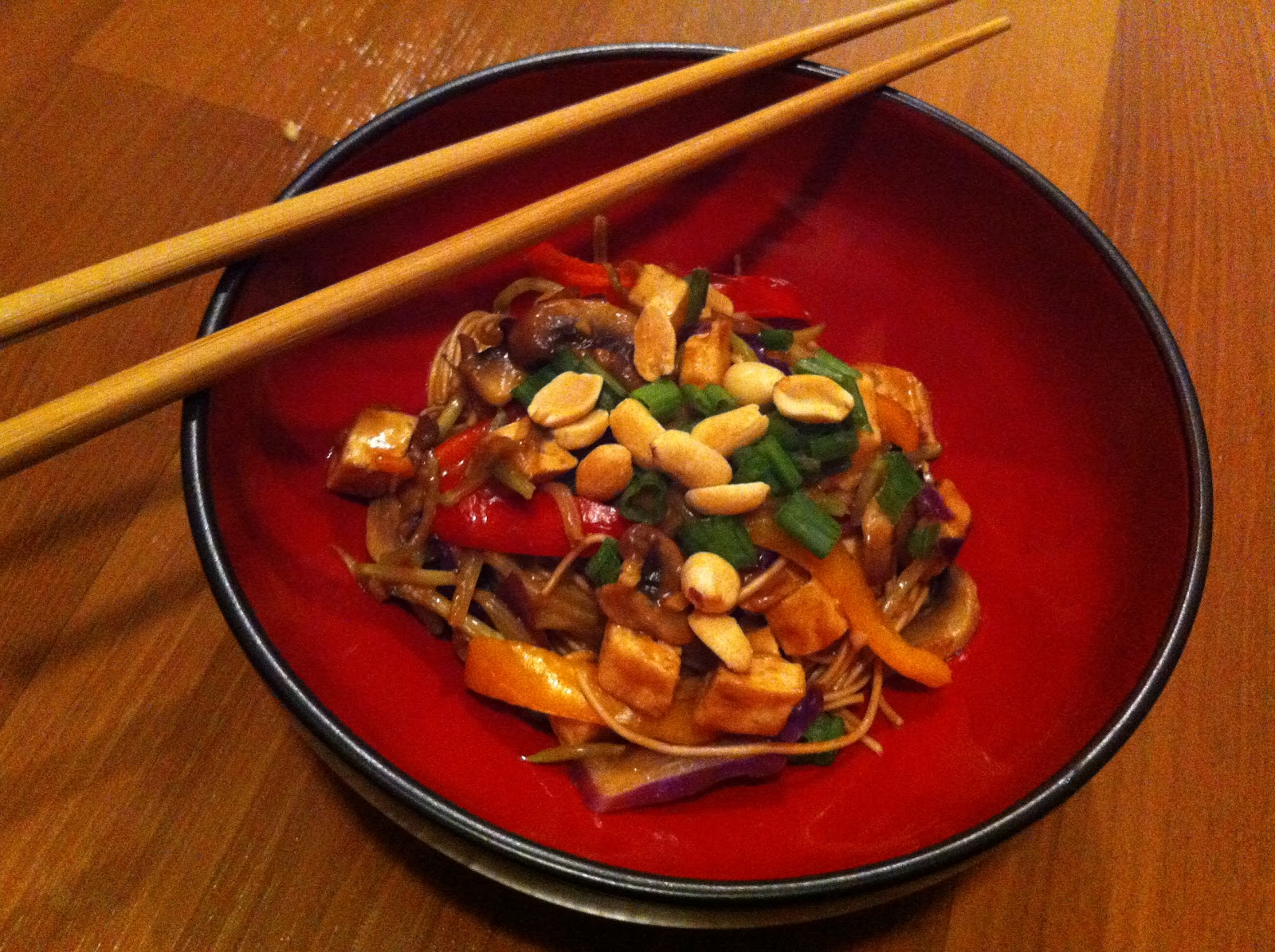 Na-vigating a Cl-uttered K-itchen: Tofu Peanut Stir Fry