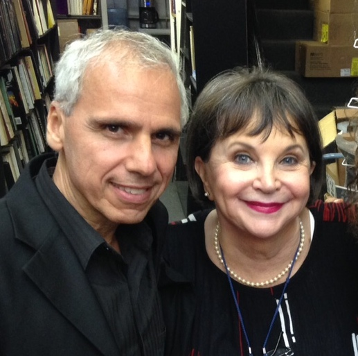 Herbie J Pilato and Cindy Williams