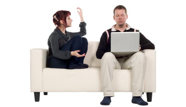 husband do not listen, couple talking