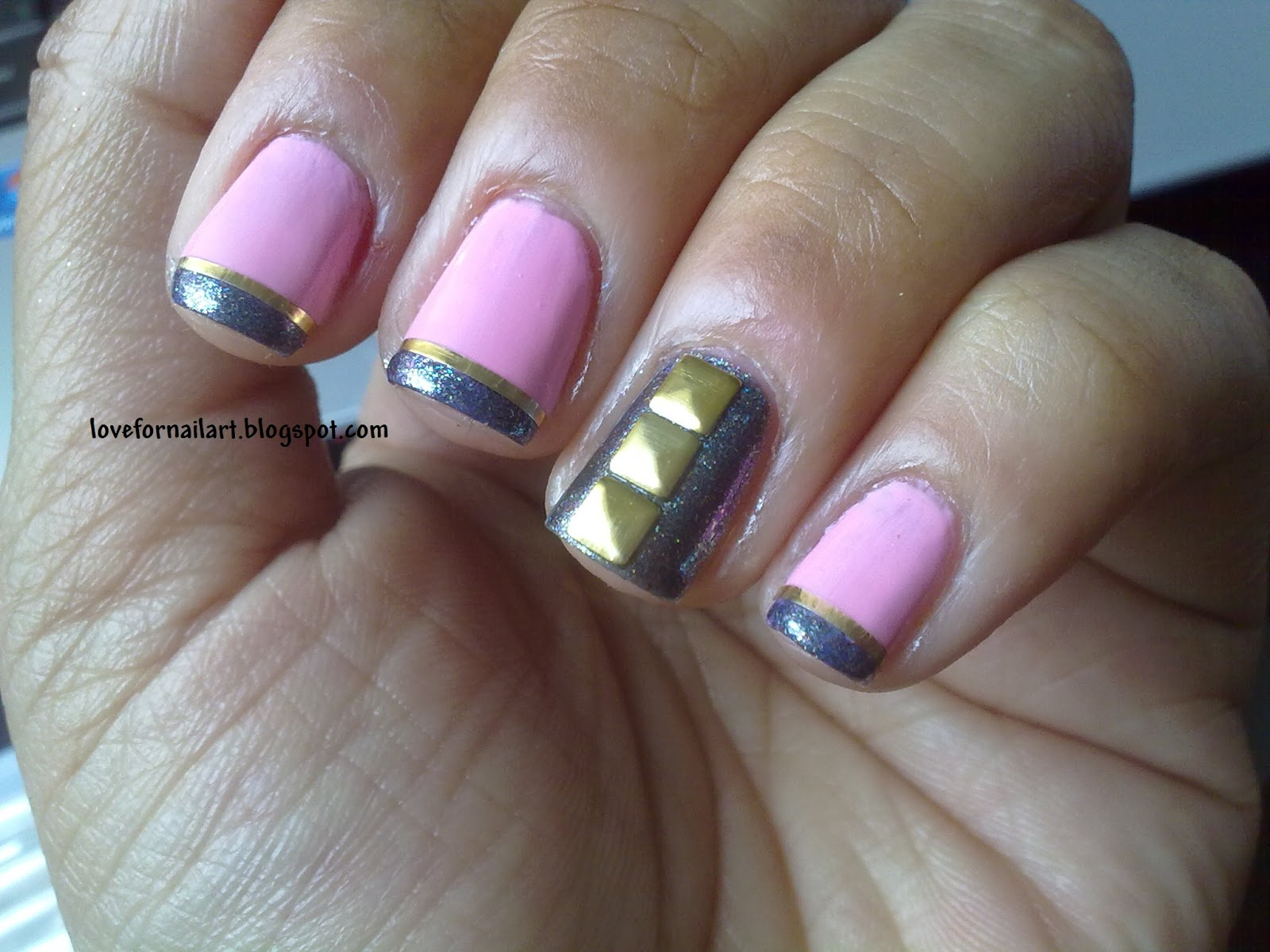 Love For Nail Art: Studded Nails