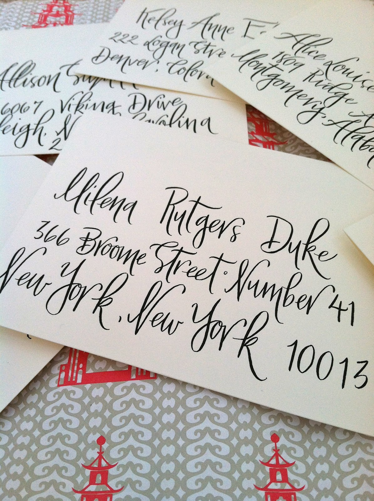 Hardink calligraphy will you be my bridesmaid