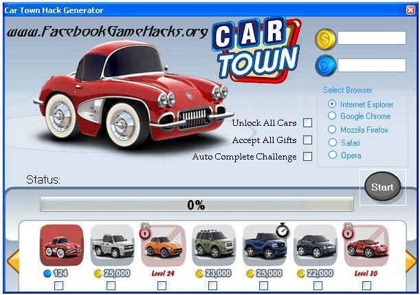 Car Town Promo Codes 2014