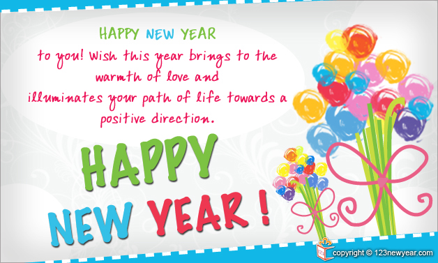 New Year Wishes Greetings 2015