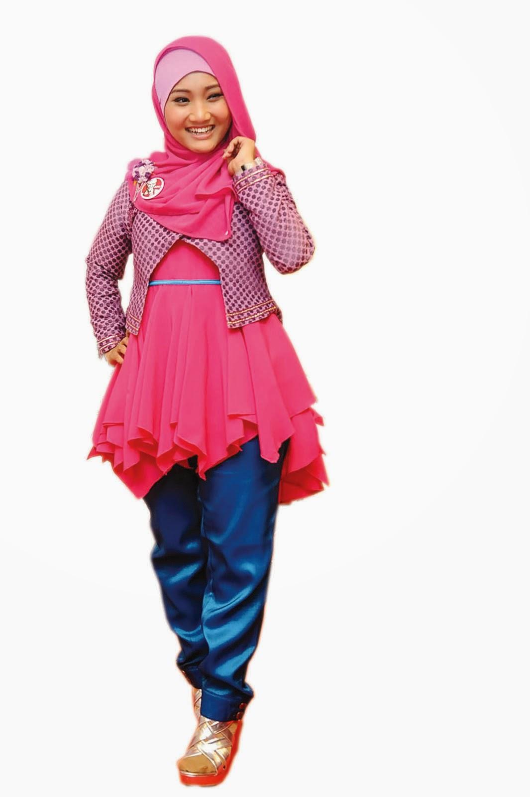 Model Hijab Ala Fatin Shidqia Lubis World Style