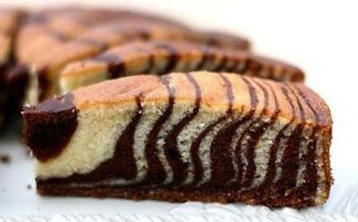 طريقة عمل الكيكة الرخامية, الكيكة الرخامية, كيكة رخامية,  الكيك, كيك