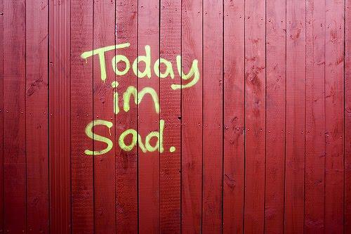 Pernah tak kau rasa kau sedih. sangat.