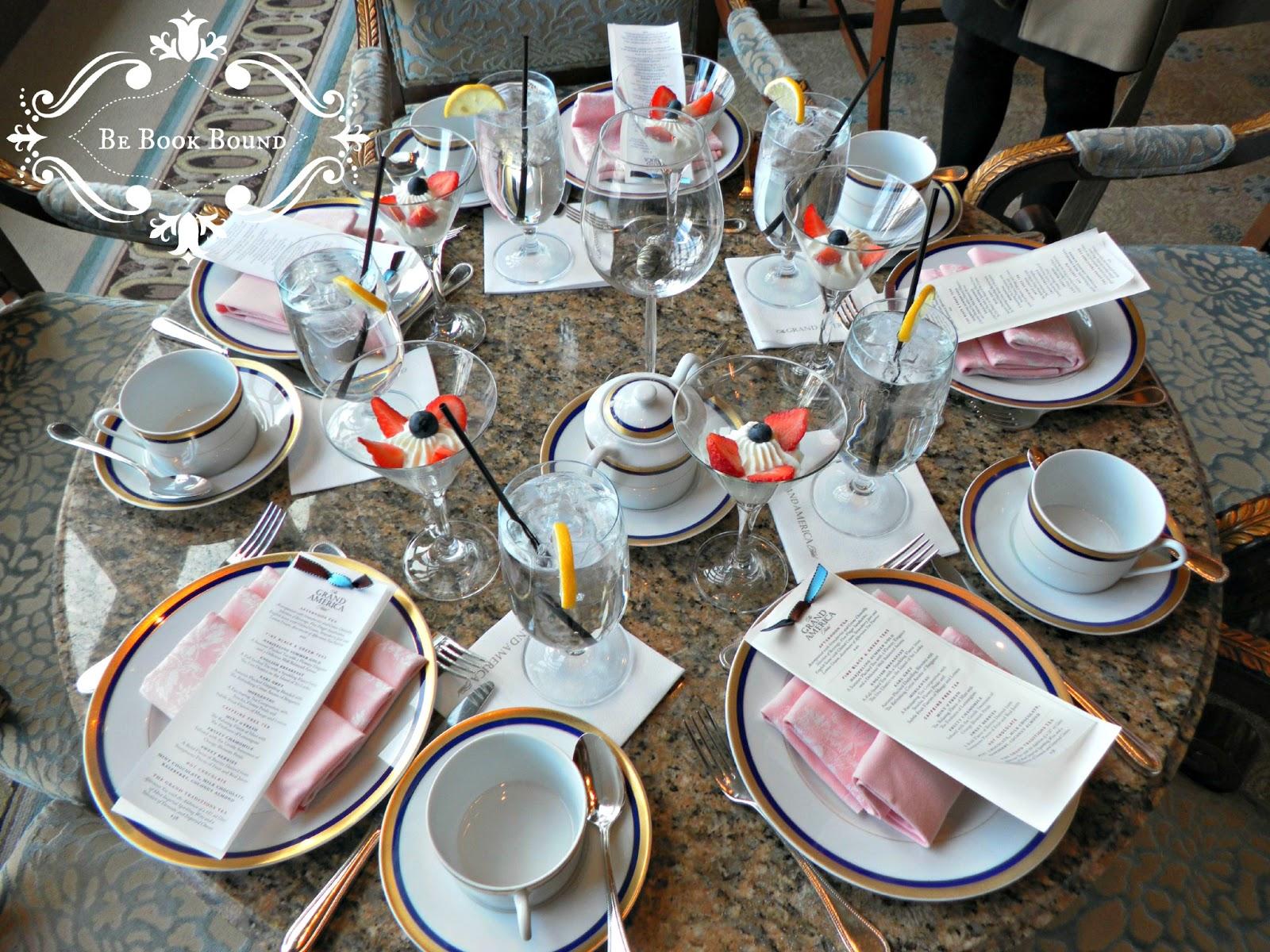 tea table settings tables - photo #33