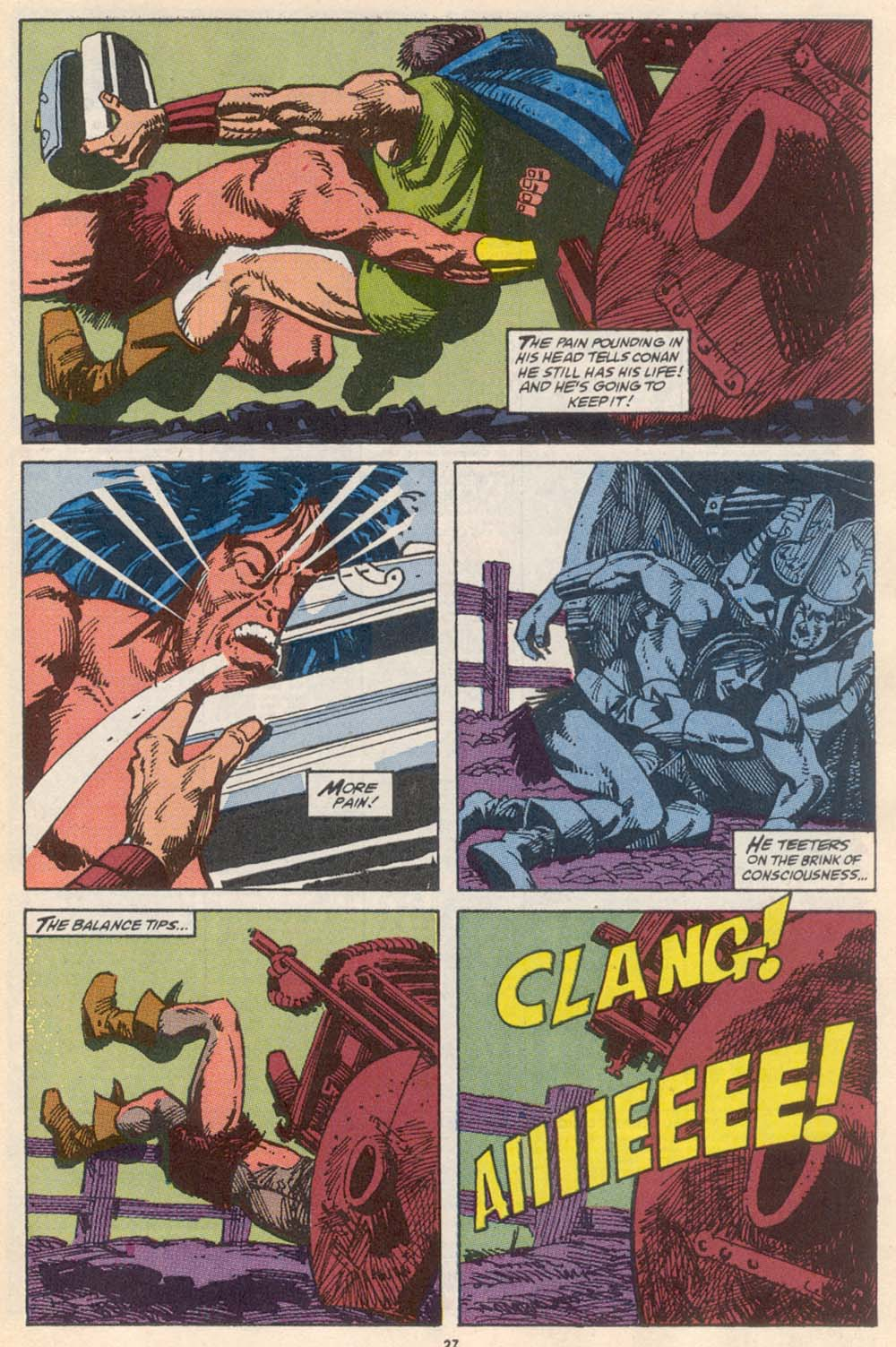 Conan the Barbarian (1970) Issue #222 #234 - English 21