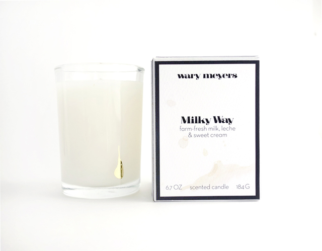 Wary Meyers Milky Way Candle