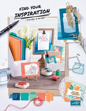 The New Stampin' Up 2016-17 Catalogue is here!
