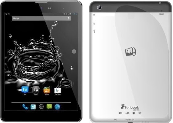 Micromax Funbook Ultra HD P580 3G Tablet