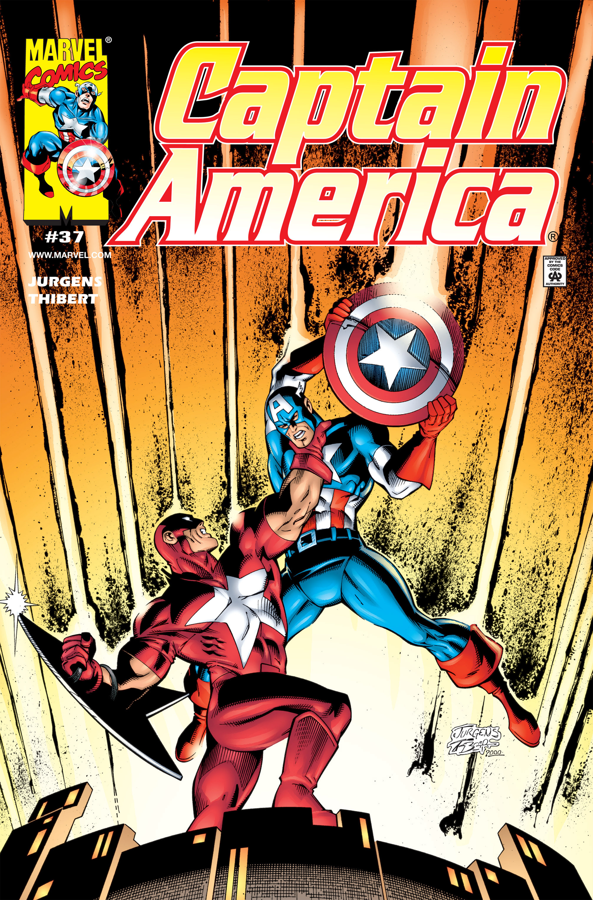 Captain America (1998) Issue #37 #44 - English 1