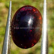 Batu Permata Black Opal Kalimaya - SP877