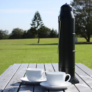 SunRocket Solar Hot Wter Kettle & Thermos.