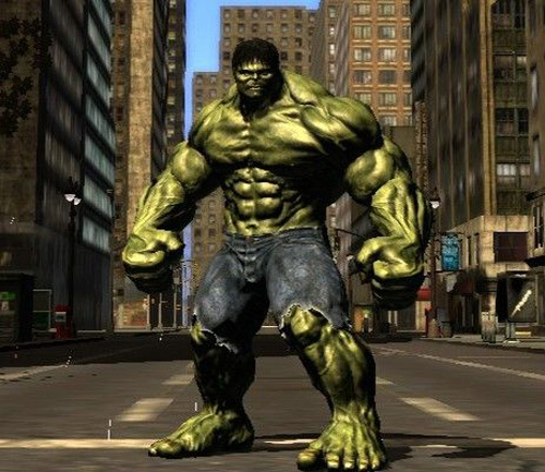 who played incredible hulk