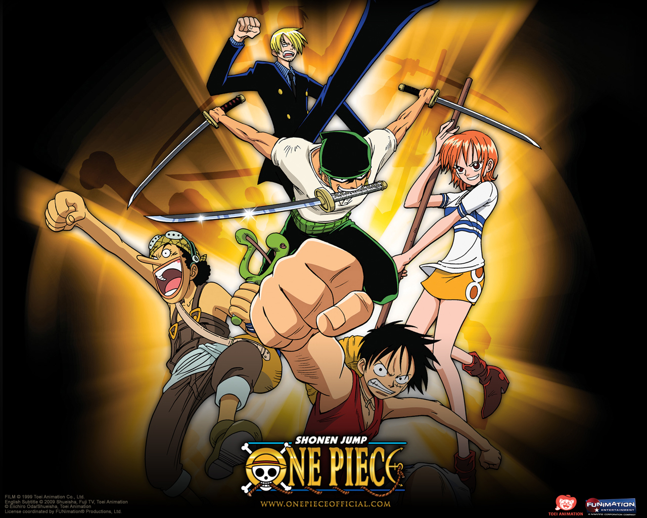 One Piece HD & Widescreen Wallpaper 0.33700302043441