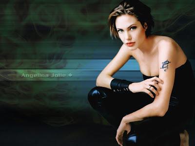 Angelina Jolie Tattoos