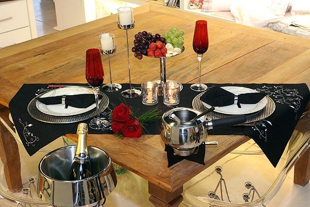 Dise o y decoraci n de cocinas consejos para una cena - Como organizar una cena romantica ...