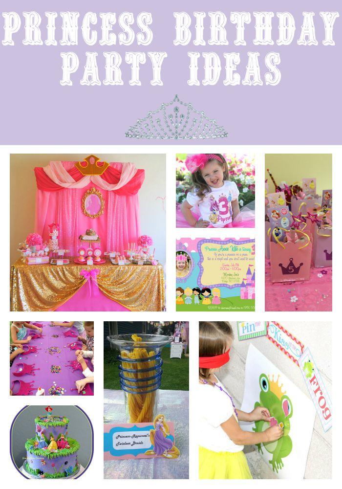 Disney Princess Birthday Party Ideas Decorations