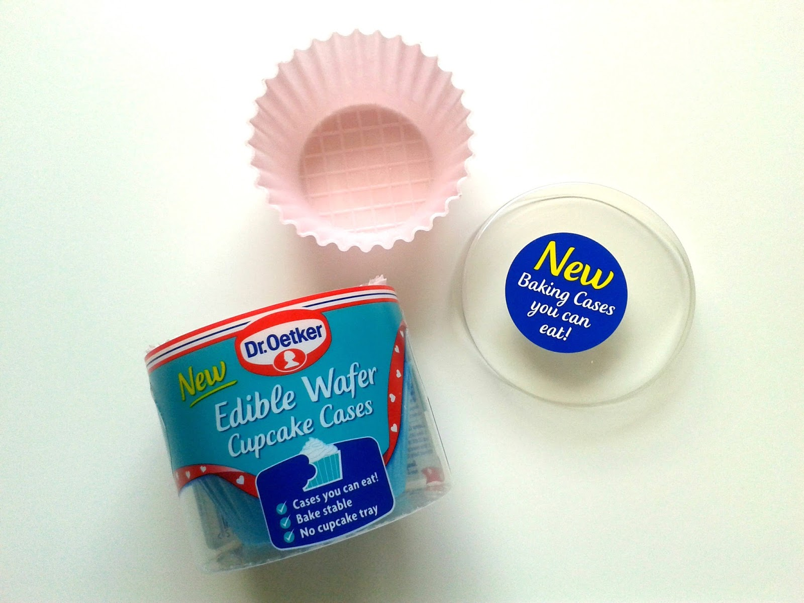 Dr. Oetker Edible Wafer Cupcake Cases August Degustabox Review