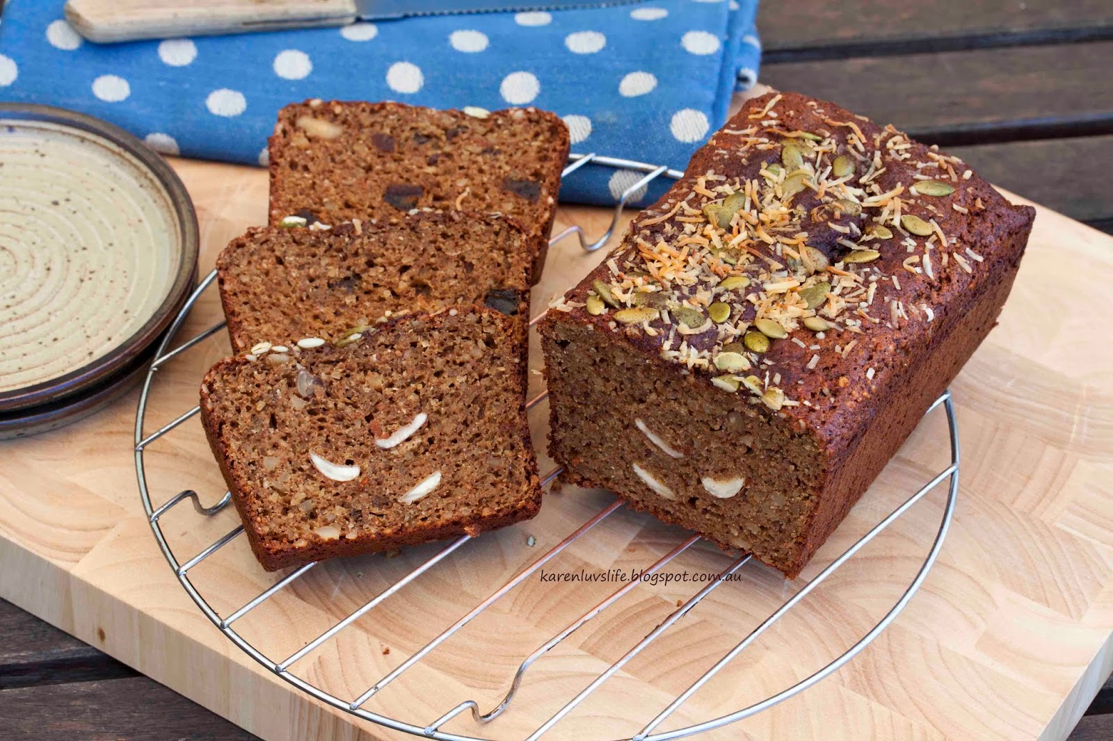 date and nut cake – protein enhanced, grain free and dairy free ...