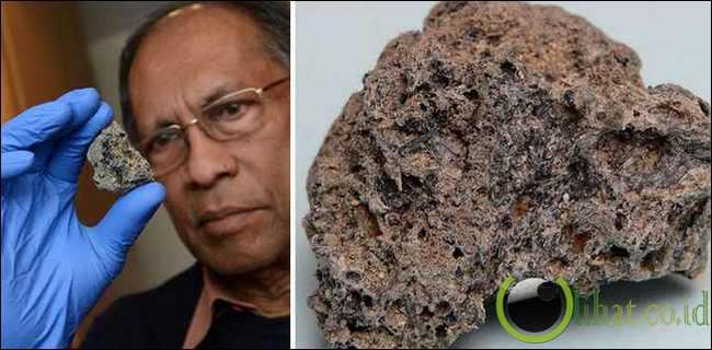 Fosil Meteorit Sri Lanka