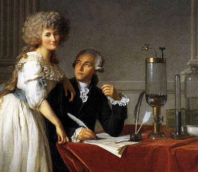 chemistry, French Revolution, husband and wife. laboratory equipment