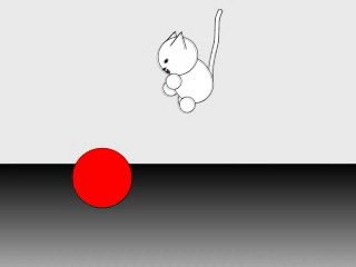 Minka Ball funny animation cat kitty cute attack B4Astudios Anime Studio Pro