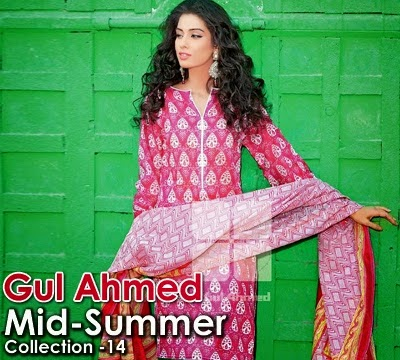 Gul Ahmed Mid-summer Lawn Dresses