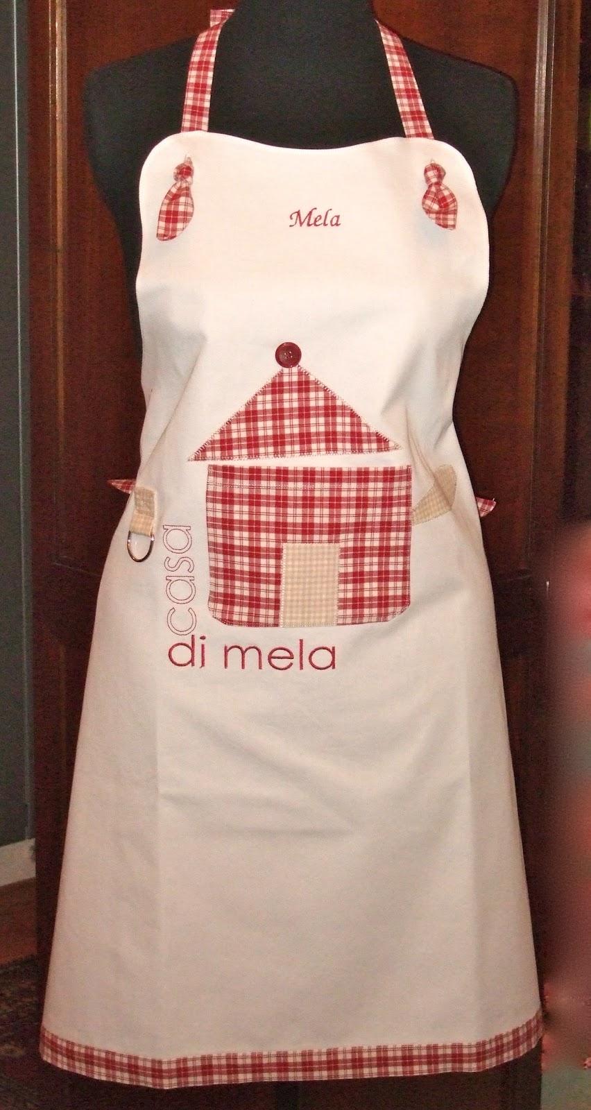 Chicca di stoffa i grembiuli per la scuola di cucina - Grembiuli da cucina ...
