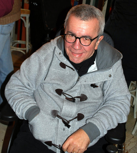 Con Pepe Rei. Asociación Cultural | En camisa de once varas