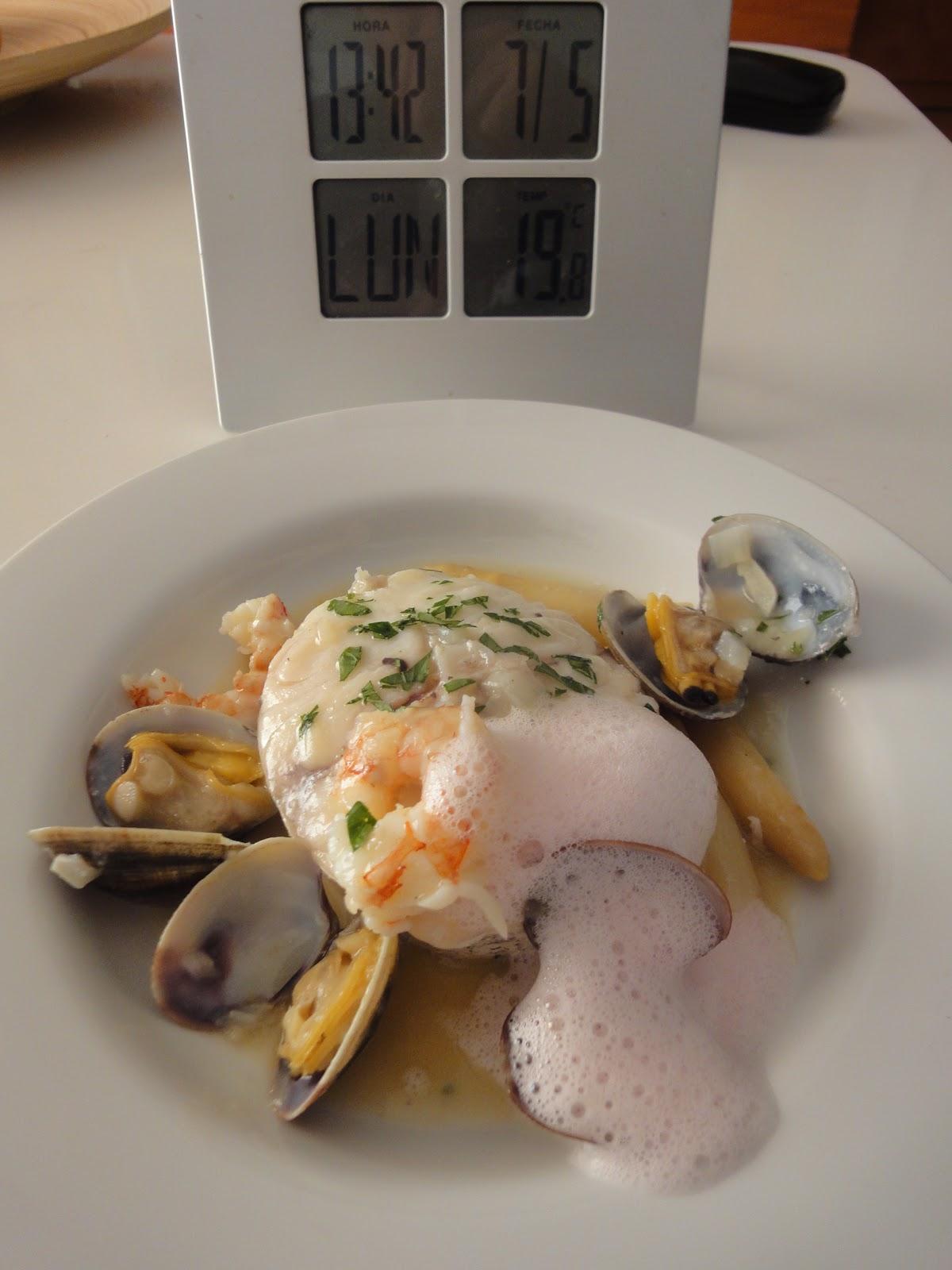 Clases de cocina zaragoza merluza con almejas - Cursos de cocina zaragoza ...