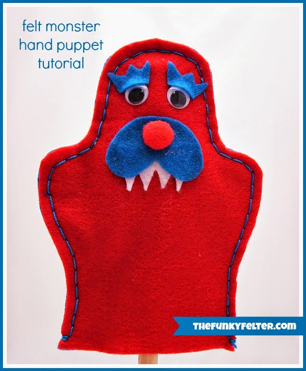 http://thefunkyfelter.blogspot.com/2014/01/diy-craft-felt-monster-puppet-with-free.html