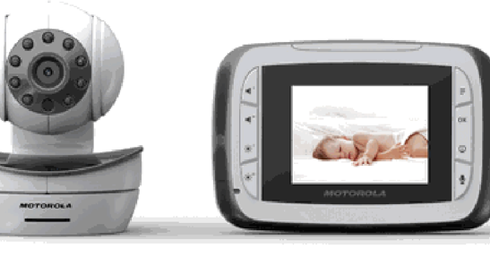 Simple and Modern Baby Monitor