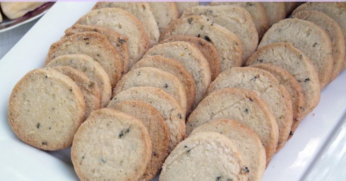 Lemon Lavender Tea Cookies