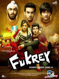 fukrey,comedy furkey movie screen posterr
