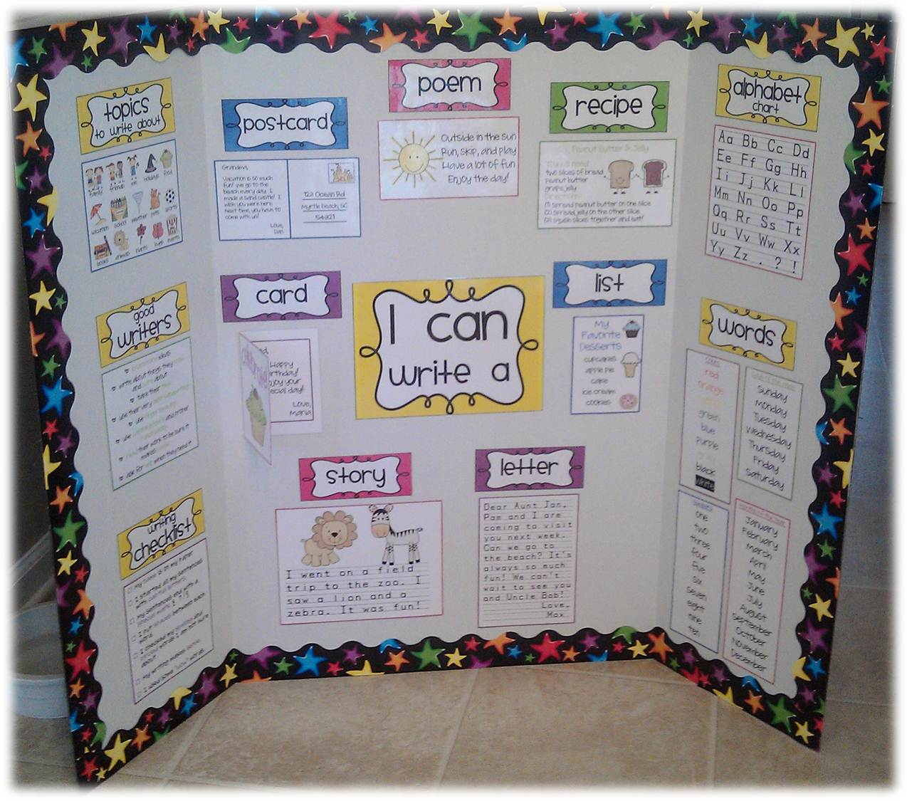 Cool Poster Board Ideas Poster Board Tri Fold And