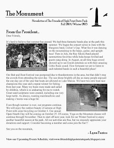 The Monument Newsletter