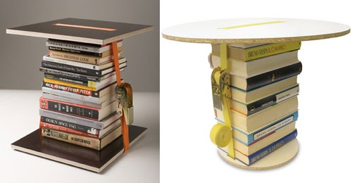 Diy College Apartment Ideas Old Books Magazines Into A Table
