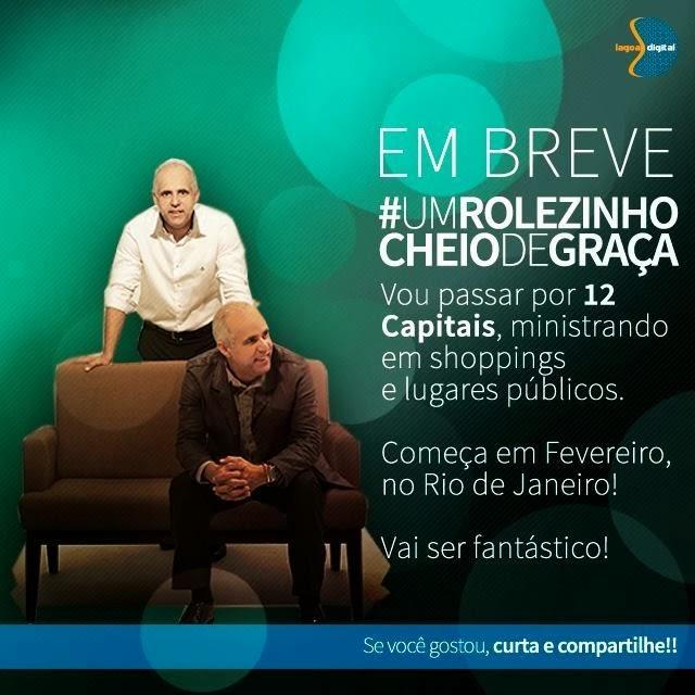Pastor Cláudio Duarte Fará Rolezinho Cheio De Graça No Shopping