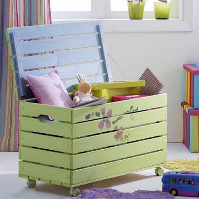 Organizar los juguetes