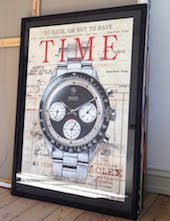 Large CANVAS ARTPRINT - Historic Horological Art