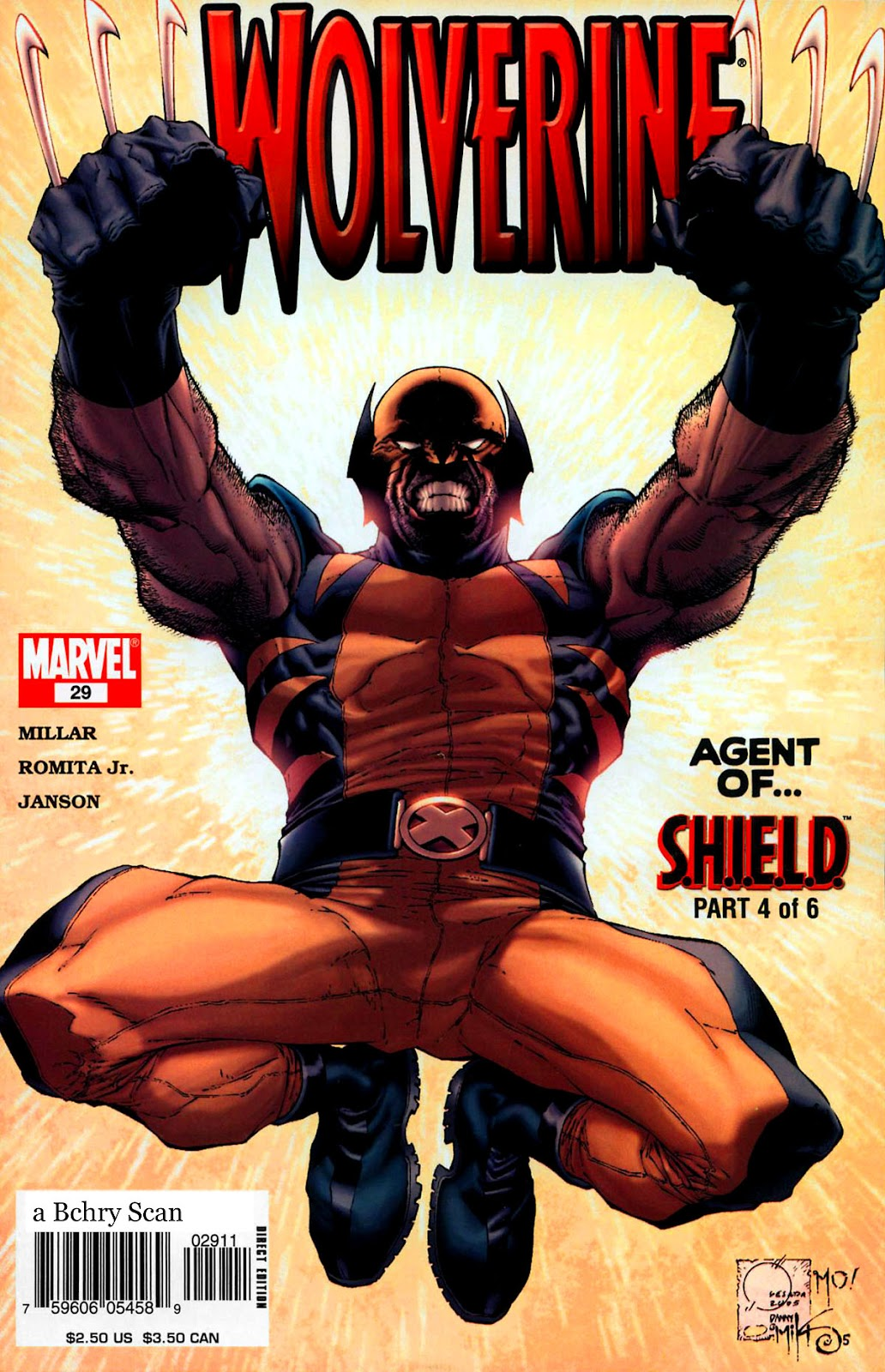 Read online Wolverine (2003) comic -  Issue #29 - 1