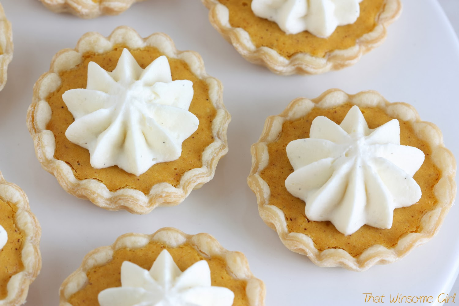 Mini Pumpkin Tarts Recipes — Dishmaps