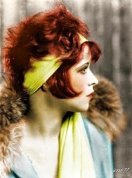 Clara Bow, un drama-queen de vida, pero con un estilazo !!!