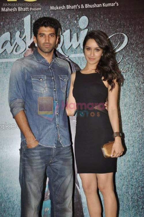 Aditya Roy Kapur, Shraddha Kapoor at Aashiqui 2 success bash in Escobar