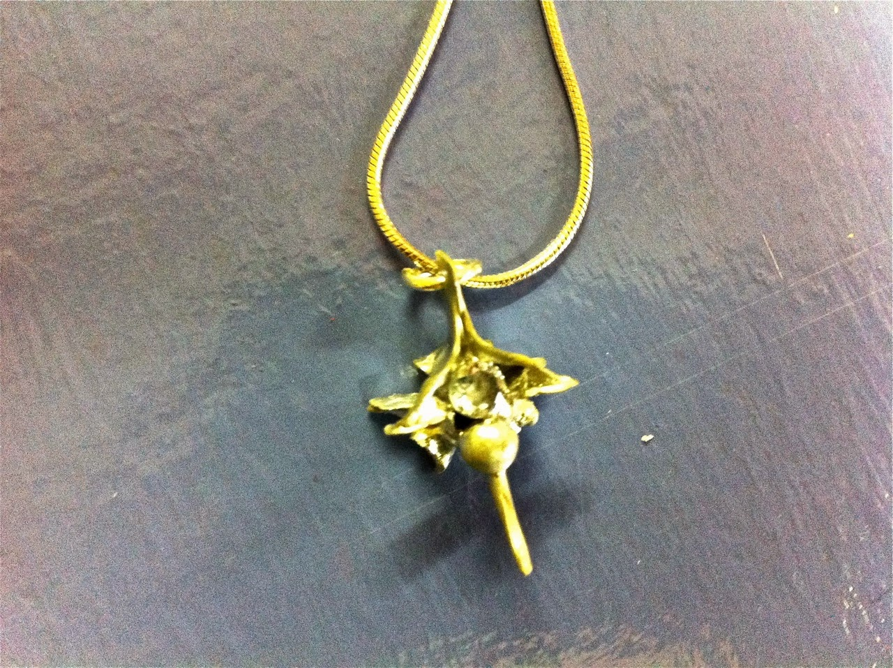 Rattlesnake Vertebrae Necklace
