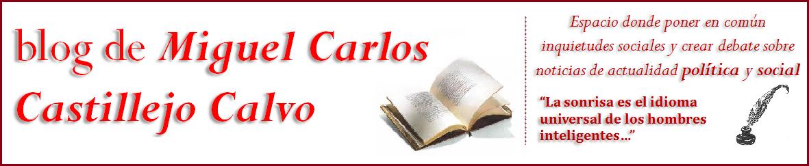 Blog de Miguel Carlos Castillejo Calvo