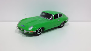 Custom Matchbox Jaguar
