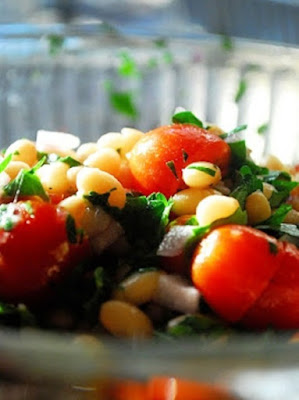 Tomato and White Bean Salad